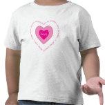 Fruta de las tarjetas del día de San Valentín de Camisetas