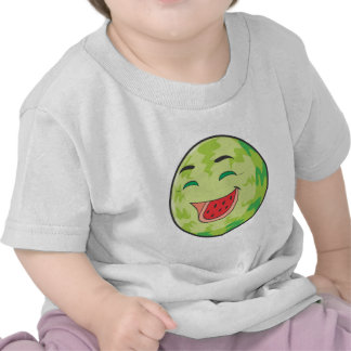 Fruta de risa de la sandía camiseta