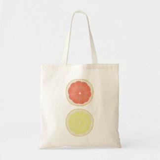 Fruta del bolso de ultramarinos de los pomelos de bolsa tela barata