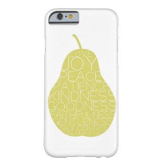Fruta del caso del iPhone 6 del alcohol Funda De iPhone 6 Barely There