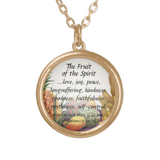 Fruta del colgante del verso de la biblia del alco