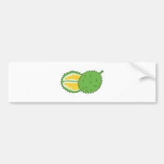 Fruta del Durian Pegatina Para Auto