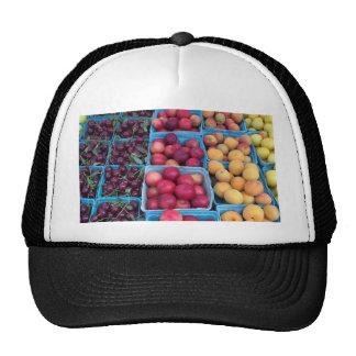 Fruta del mercado de los granjeros gorras