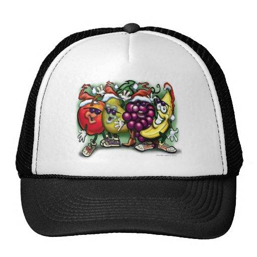 Fruta del navidad gorras