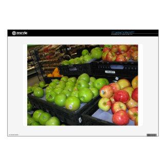 Fruta del parque zoológico 031.JPG-apples de Calcomanías Para 38,1cm Portátiles