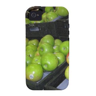 Fruta del parque zoológico 031.JPG-apples de iPhone 4 Fundas