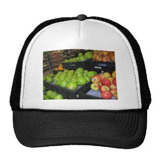 Fruta del parque zoológico 031.JPG-apples de Gorros Bordados