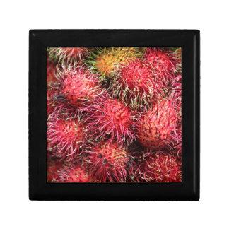 Fruta del Rambutan Caja De Recuerdo