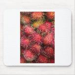 Fruta del Rambutan Tapete De Raton