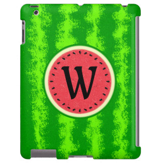 Fruta del verano de la rebanada de la sandía con funda para iPad