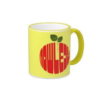 Fruta divina tazas de café