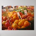 Fruta en el mercado de lugar de lucios - porqué am posters