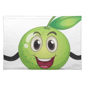 Fruta en saco mantel individual