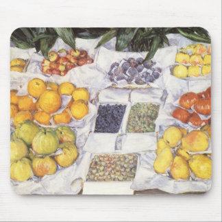 Fruta exhibida en un hacer una pausa Gustave Alfombrillas De Ratón