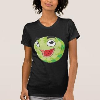 Fruta feliz de la sandía camisetas