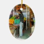 Fruta fresca de compra ornamento para arbol de navidad