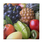 Fruta fresca - exhibición dulce azulejos cerámicos