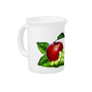 Fruta fresca jarra para bebida