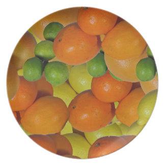 fruta fresca platos de comidas