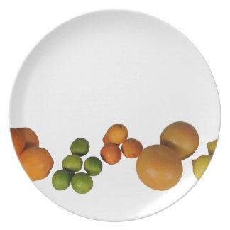 fruta fresca platos para fiestas