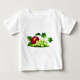 Fruta fresca playera de bebé