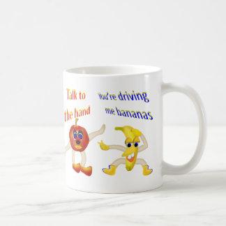 Fruta fresca taza de café