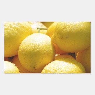 Fruta: Limones Rectangular Altavoz