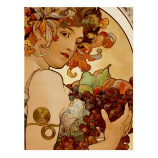 Fruta - otoño 1897 tarjetas postales