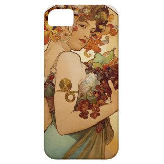 Fruta - otoño - circa 1897 funda para iPhone 5 barely there