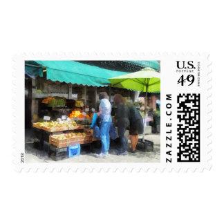 Fruta para la venta Hoboken NJ Sellos