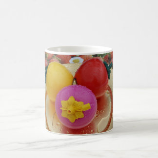 Fruta plástica tazas de café