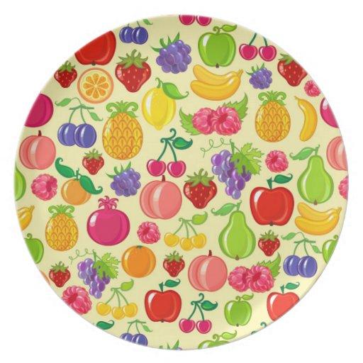 Fruta Plato Para Fiesta