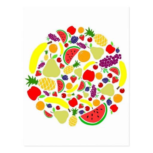 Fruta Postales