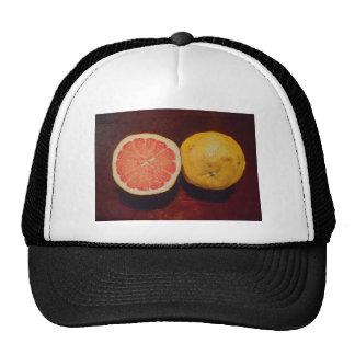 Fruta rosada del pomelo gorra