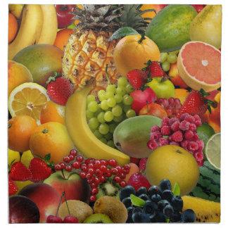 Fruta Servilleta Imprimida