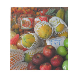 Fruta tailandesa libreta para notas
