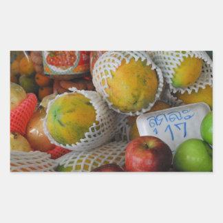 Fruta tailandesa rectangular altavoces