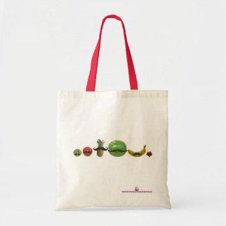 ¡Fruta! Tote Bolsa Tela Barata