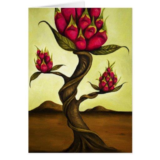 Fruta Tree1 del dragón Tarjeta De Felicitación