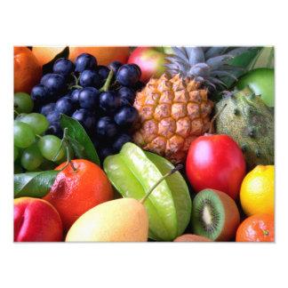 Fruta tropical cojinete