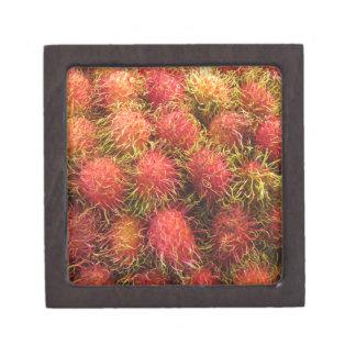 Fruta tropical del Rambutan Caja De Joyas De Calidad