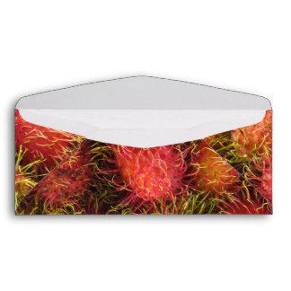 Fruta tropical del Rambutan