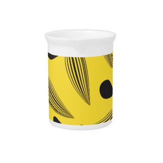 Fruta tropical jarras de beber
