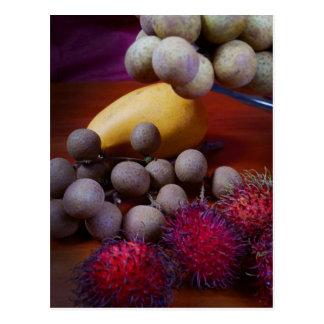 Fruta tropical postales