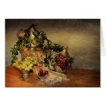 Fruta y flores felicitacion
