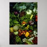 Fruta y verduras poster