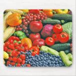 fruta y verduras tapetes de raton