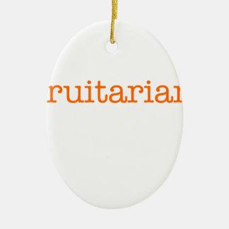 Frutarian Ceramic Ornament