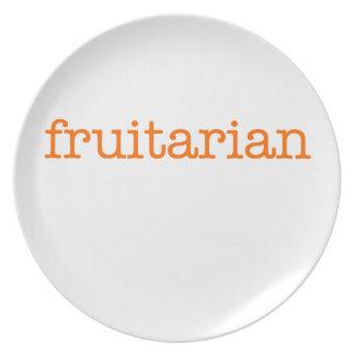 Frutarian Plato De Comida