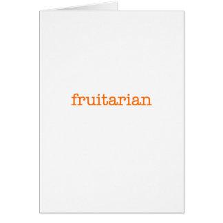 Frutarian Tarjeta De Felicitación
